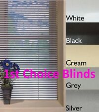 WHITE ALUMINIUM VENETIAN METAL BLINDS MADE TO MEASURE WHITE