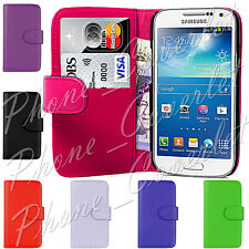 PU Leather Wallet Book Flip Phone Case Cover For Samsung Galaxy S4 IV i9500