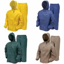 Frogg Toggs Ultra-Lite2 Rainsuit Khaki, Blue, Green, Yellow Dri Ducks