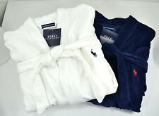 Polo Ralph Lauren Mens Kimono Plush Cotton Robe Choose Color Size S / M