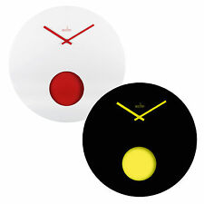 Wall Clock Pendulum New Large 50cm Home Kitchen Office Designer Modern by Acctim
