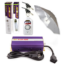 Apollo Horticulture 400 Watt MH HPS Grow Light System Set Kit for Plant Growing