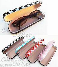 Eye glasses Sunglasses Hard Case Box Crush Resistant Clamshell Casing Easy Close
