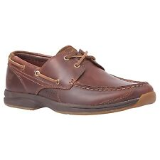 Mens Timberland Earthkeepers Hulls Cove 2-Eye Boat Shoe Brown Pull-Up 5748R