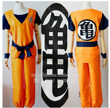 Dragon Ball Z GOKU Costume Anime Cosplay 5 size Free Shipping +Tracking number