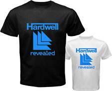 DJ HARDWELL REVEALED Electro House Music Men's White Black T-Shirt Size S to 3XL