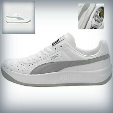MENS  PUMA GV SPECIAL  Casual Walking Sneakers  White  Grey 343569-72