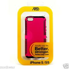 Good PC+TPU Protective Case Phone Accessory For Iphone 5/5s Red Black Border