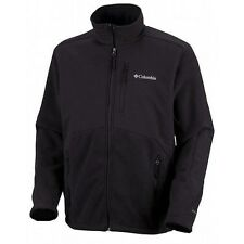 Columbia Ballistic III Fleece Men's Jacket New Black Stone Blue S M XL New NWT
