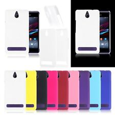 Hard Case Snap On Phone Cover Plastic Colorful Back Skin For Sony Xperia E1