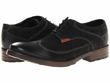 Men Clarks Oxford Denton Dane 66139 Black Leather 100% Authentic Brand New