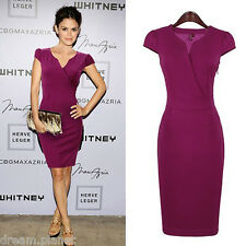 New Womens Celebrity Style Bodycon Pencil Evening Party Dress-B04