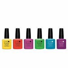 CND Shellac UV Gel Soak Off Nail Polish NEW PARADISE COLLECTION Colours 2014