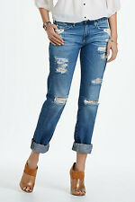 New Anthropologie AG Piper Destroyed Jeans Size 25