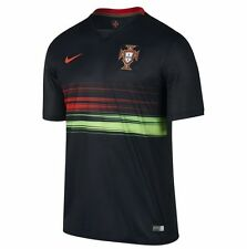 Nike Portugal 2014 - 2015 Home Soccer Jersey Brand New Black / Red / Green