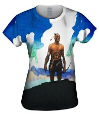 """Yizzam - Wyeth - """"Last of the Mohicans""""- New Ladies Top Women Tshirt Tee"""