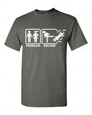 Problem Solved funny T-SHIRT humor marriage gag tee