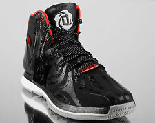 7a59f7f67 adidas D Rose 4.5 Away men basketball shoes 4 drose NEW black red white