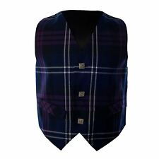 Boys Scottish Tradtional Heritage of Scotland Tartan Formal Waistcoat Age 1 -10