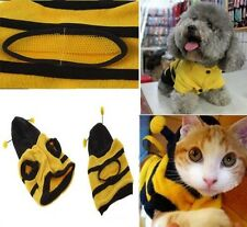 Cute Bumble Bee Costume Clothing Outfit For Small Dog Cat 2014