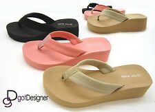 NEW Women's Shoes Foam Beach Sandals Slippers Flip Flops Casual Comfort Platform