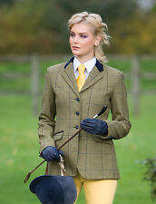 "Equetech Kenton Deluxe Tweed Jacket (To Size 26 - Size 48"" Chest) - 2015 SEASON"