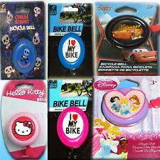 Bike Bicycle Bell Kids Girls Boys Accessories SAFE Easy Thumb Ring Bell Easy Fit