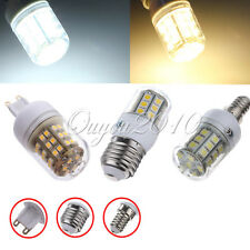 E27/E14/G9 27/30/48/59/69 SMD 5050 LED Light Bulb Lamp w/cover 220V Pure Warm