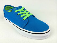 VANS. Kids 106 VULCANIZED Shoes. BLUE w/ Green. US Kids 11, 1.5, & 2.5.
