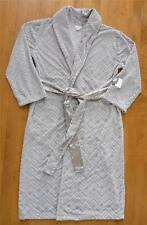 NWT Womens Jaclyn Smith BATH ROBE Size Med Large Bathrobe house Gray Grey velour