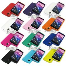 Gel soft Silicone Case Skin Cover for Google Nexus 5,E980 D820 +Screen Protector