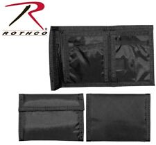 Black Military Army USMC Navy Tactical Tri-Fold Nylon Commando Wallet 10629