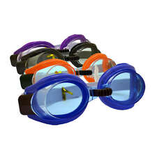 4 Colour New Crystal Clear Sport Swimming Goggles For Boys / Girls And Adults