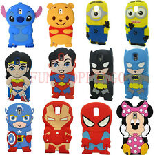 New 3D Cartoon Heros Silicone Case Cover for Samsung GALAXY Note 3 III N9000 gt