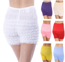 NEW Malco Modes RUFFLED Lace Square DANCE Costume PETTIPANTS Panties Bloomers 6""