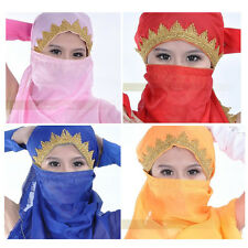 Belly Dance Dancing Costume Chiffon Shawl Veil Scarf 13colors
