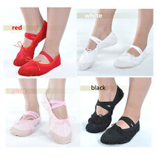 Dancing Shoes Slippers Ballet Shoes 4 Colors 6 Sizes