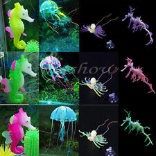 Artificial Leafy Sea Dragon / Sea Horse /Jellyfish Aquarium Fish Tank Decor