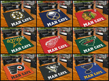 """NHL Licensed MAN CAVE All-Star Area Rug/Mat 34""""x45"""" NEW Choose your Team"""