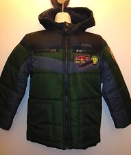 New Pacific Trail Boys M (8) or XXL (18/20) Warm Green and Grey Winter Coat