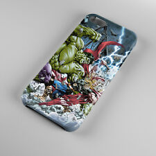 Hulk VS Thor Marvel Superheroes Clash For iPhone 5s 5 4S 4 Hard Case Cover