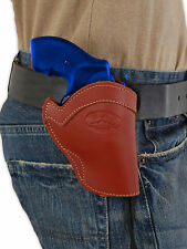 """NEW Barsony Burgundy Leather Western Style Holster Ruger 22 38 357 Snub Nose 2"""""""