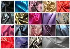 Two-tone (shot) Taffeta faux silk dress fabric; 14 colours, price £3.50 p/metre