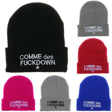 Hip Hop COMME des Men's Beanies Streetwear Winter Acrylic knit caps Hats BH11