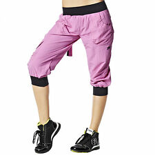 Zumba Fitness Ultimate Orbit Cargo Capris! Prism Pink! New With Tags! SHIPS FAST