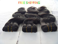 5A Body Wave Peruvian cheap human Hair Weave Extension 1 bundle 100g/pack 1B