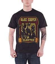 Alice Cooper Elected Band Official Mens New Black T Shirt All Sizes