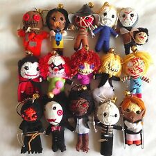 Horror Movie Action Superhero Character Voodoo String Doll Keychain Keyring