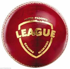 SG League Red 4 Piece LEATHER Cricket Ball 1x,2x,3x,6x,12x + AU Stock +Free Ship