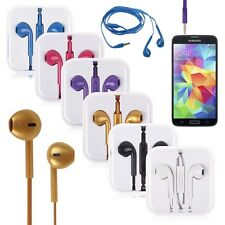In-Ear Headset Earphone Earbuds Mic Volume For Samsung Galaxy S5 S4 S3 S2 Note 3